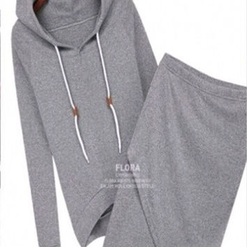 women casual dress suit baseball ladies sweatshirt tracksuits pullovers hoodies sportswear clothing set = 1932362756
