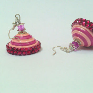 Paper Earring - paper jhumka - Quilled Jhumka