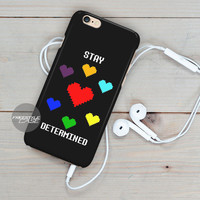 Undertale Stay Determined   iPhone Case Cover Series