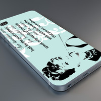 audrey hepburn eye case IPhone 4/4s,5/5s,6, Samsung Galaxy S2,S3,S4