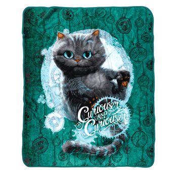 Disney Alice Through The Looking Glass Cheshire Cat Throw