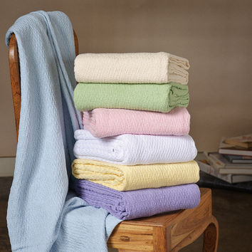 Sea Breeze 100-percent Cotton Throw | Overstock.com Shopping - The Best Deals on Throws