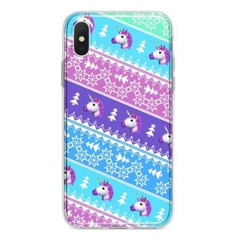 UNICORN CHRISTMAS SWEATER CUSTOM IPHONE CASE
