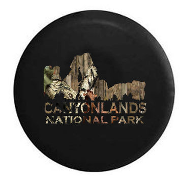 Canyonlands National Park Colorado RiverRV Camper Jeep Spare Tire Cover
