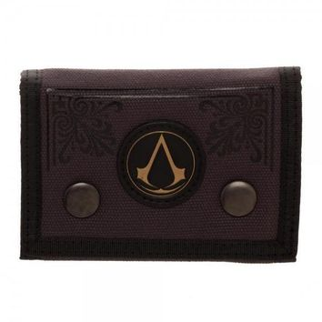 MPW Assassin's Creed Canvas Tri-Fold Wallet