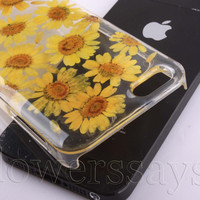 iPhone 6 case iPhone 6 plus Pressed Flower, iPhone 5/5s case, iPhone 4/4s case, 5c case Galaxy S4 S5 Note 2 note 3 Real Flower case NO:F410