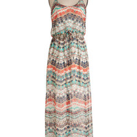 ModCloth Boho Long Spaghetti Straps Maxi Give it Your Fest Dress