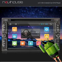 """6.2""""Android Double 2Din Car DVD Player GPS Navigation OBD Mirror Link Radio iPod"""
