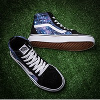 Vans/ Sky print high casual shoes