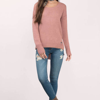 Sami Knitted Slit Sweater