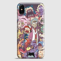 Rick And Morty iPhone X Case