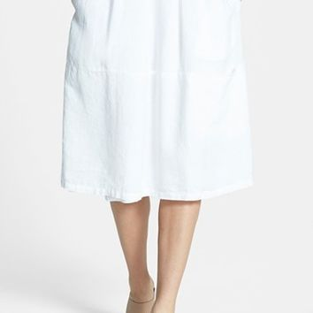 Women's Eileen Fisher Organic Linen Skirt,