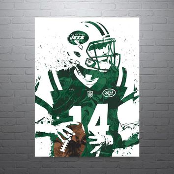 Sam Darnold New York Jets Poster
