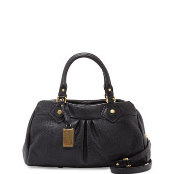 Classic Q Groovee Satchel Bag, Black - MARC by Marc Jacobs