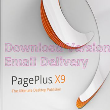 Serif PagePlus X9 ESD - Download - Instant Delivery! + free access to 1m imag | eBay