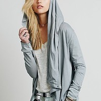 We The Free Womens We The Free Wrap Ruffle Cardi