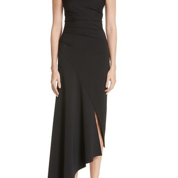 Oscar de la Renta Asymmetrical One-Shoulder Dress | Nordstrom
