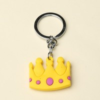PRINCESS CROWN KEYCHAIN