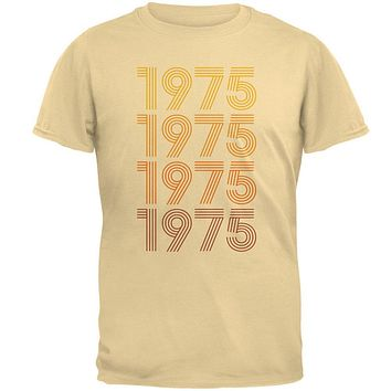Retro Vintage Flashback Paralines Birthday 1975 Mens T Shirt