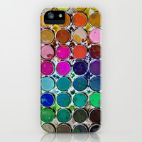 WaterColors iPhone & iPod Case by Sara Eshak