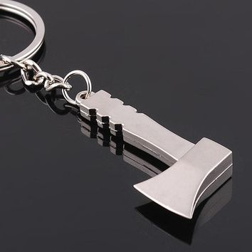 Keychain  Cute Metal Axe Hatchet Pendant Mini Tool
