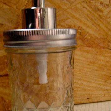 EcoFavorable Mason Jar Dispenser 8Oz by TheHoneyShack on Etsy