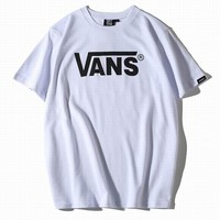 VANS Woman Men Fashion Print Tunic Shirt Top Blouse