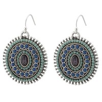 Lucky Brand Multi Drop Earring Womens - Blue Multi (One Size)