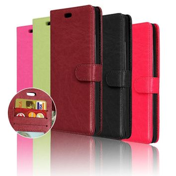 Luxury Wallet Style PU Leather Case For Samsung Galaxy S5 i9600 with Stand Function Cell Phone Cover in Stock