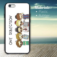 ONE DIRECTION iPhone 4/4S, 5/5S, 5C, 6 Series Hard Plastic Case