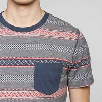 BDG Jacquard Stripe Pocket Standard-Fit Tee