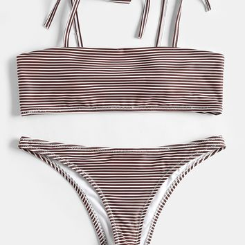 Hot New Arrival Swimsuit Beach Set Swimwear Summer Sexy Stripes Bikini [1975309959265]