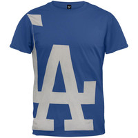 Los Angeles Dodgers - Overgrown Logo Soft T-Shirt