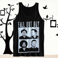 Hot item Fall Out Boy Tanktop, Tanktop Men, Tanktop Women, Tanktop Girl, Men Tanktop, Girl Tanktop.