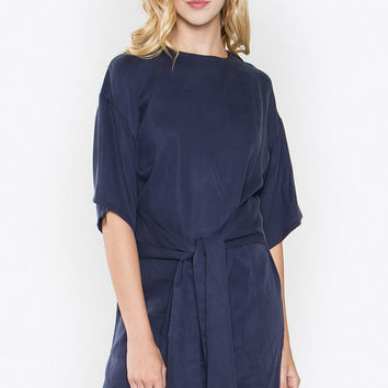 Tied Front Dress