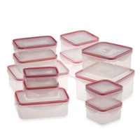 24-Piece Food Storage Container Set with Snap Lock™ Lids