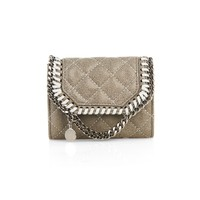 Falabella three-chain quilted wallet | Stella McCartney | MATCHESFASHION.COM US