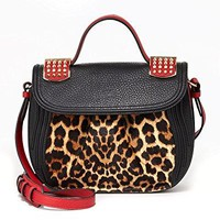 Christian Louboutin ladies handbag Dompteuse Messenger Pony