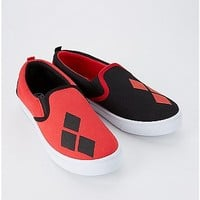Harley Quinn Slip On Sneakers - DC Comics - Spencer's