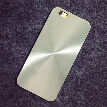 Silver Laser Case Cover for iphone 5s 6 6s Plus Gift 191