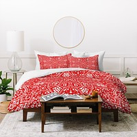 Aimee St Hill Amirah Red Duvet Cover