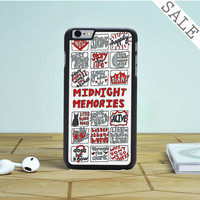midnight memories one direction collage iPhone 6 Plus iPhone 6 Case