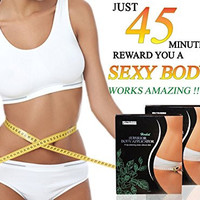 Neutriherbs Natural Superior Body Applicator Wraps Body Contouring Cream infused Cloth for Body Detox and Reduces of Cellulite and Stretch Marks (5 Wraps)