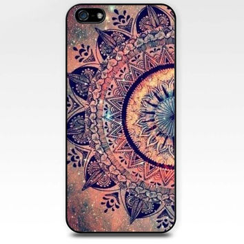 Mandara clolorful pink red mandara dream iphone case,ipod case,samsung galaxy case available plastic and rubber case B002
