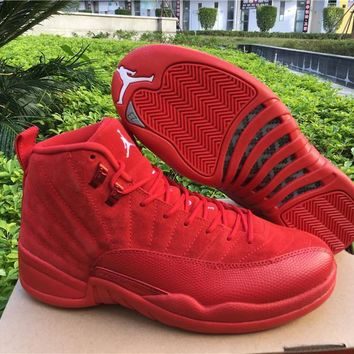 Air Jordan Retro 12 OVO Christmas Discount AJ12 Cheap Sale JD 12 Men Sports Basketball