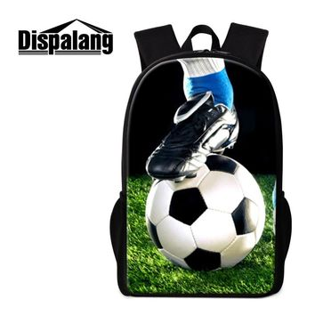 Cristiano Ronaldo School Bags for Teen Men Cool Travel Backpacks for Children Stylish Book Bag for Primary Students Day Pack