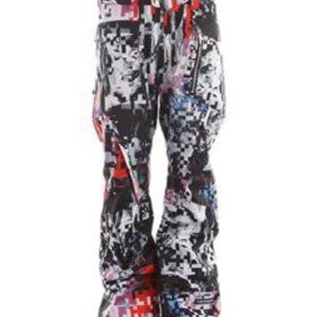 Ride Westlake Snowboard Pants Spaceknuckle Print 2013 - Mens