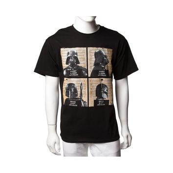 Mens Star Wars Mean Mug Tee