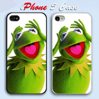 The Muppets kermit the frog Custom iPhone 5 Case Cover