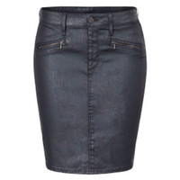 Modena Coated Pencil Skirt